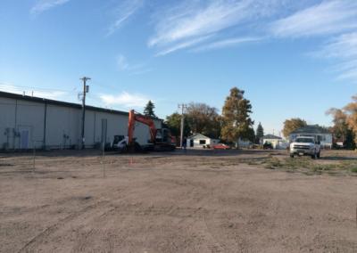 Photo of WNB construction site