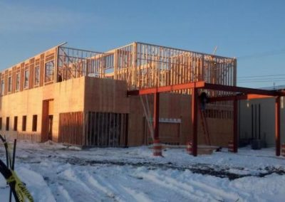 Photo of WNB construction site